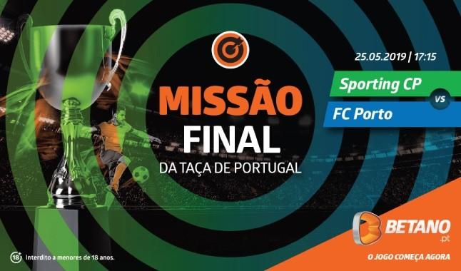 Missão FC Porto-Sporting - Aposta e recebe uma FullBet imediata