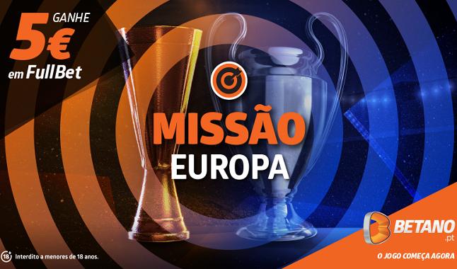 Aposta Grátis na Missão Europa