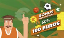 Nossa Aposta: bónus de 50% até 100€