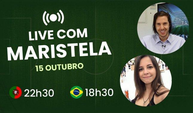 Paulo Rebelo à conversa com Maristela
