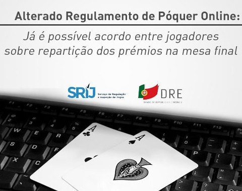 Já é possível acordo de repartição de prémios no póquer online
