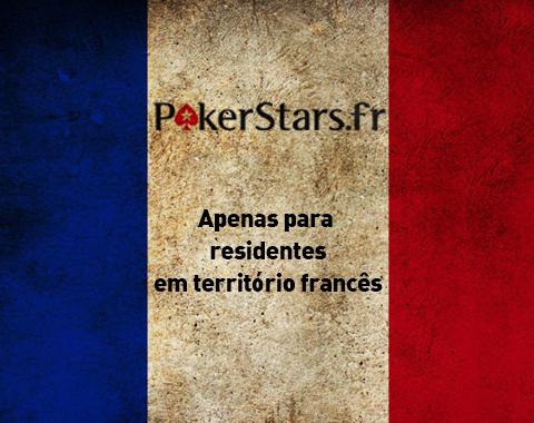 Pokerstars.fr servirá só residentes em território francês