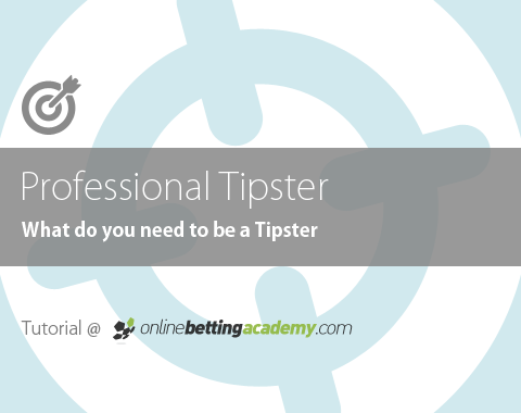 How can you become a professional tipster?