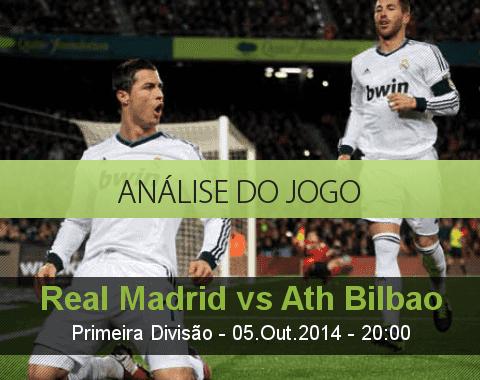Análise do jogo: Real Madrid vs Athletic Bilbao (5 Outubro 2014)
