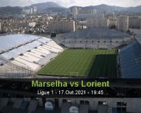 Marselha vs Lorient