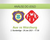 Prognóstico Aue Würzburg (26 Janeiro 2021)