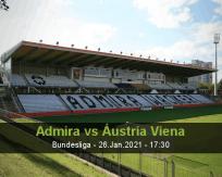 Prognóstico Admira Áustria Viena (26 Janeiro 2021)