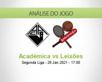 Prognóstico Académica Leixões (26 Janeiro 2021)