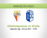 Prognóstico Vilafranquense Vizela (26 Janeiro 2021)