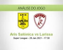 Prognóstico Aris Salónica Larissa (26 Janeiro 2021)