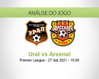 Prognóstico Ural Arsenal (27 Setembro 2021)