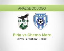 Prognóstico Pirin Cherno More (27 Setembro 2021)