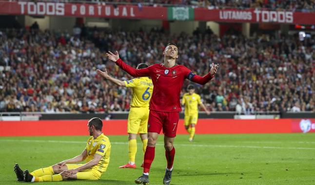 Sérvia vs Portugal com cashback de 20€