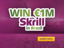 O Skrill comemora o Mundial 2014 no Brasil oferecendo prémios de sonho