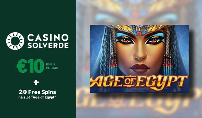 Free spins em slot do CasinoSolverde
