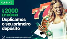 Duplica o teu primeiro depósito em casino na Solverde
