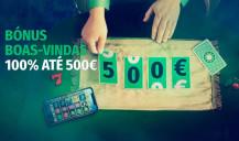 Ganha até 500€ com bónus Casino Solverde