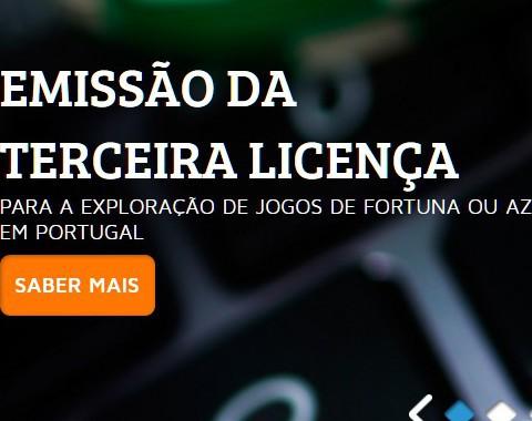 Primeira licença de casino online em Portugal