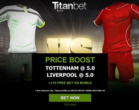 Tottenham vs Liverpool: o maior prémio que vais encontrar ao apostar nestas equipas