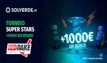 Torneio Relâmpago Solverde – Mais de 1000€ em Prémios