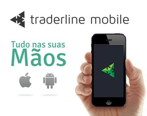 Traderline Mobile: software de trading com ladder para iPhone e Android