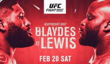 All about the fight between Curtis Blaydes and Derrick Lewis