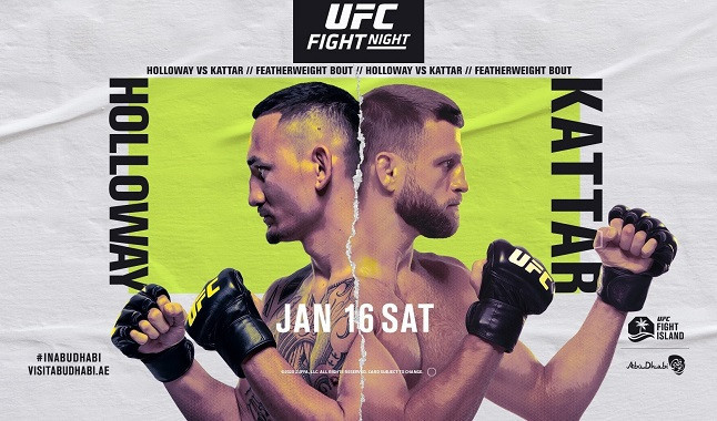 Everything about the fight between Max Holloway and Calvin Kattar