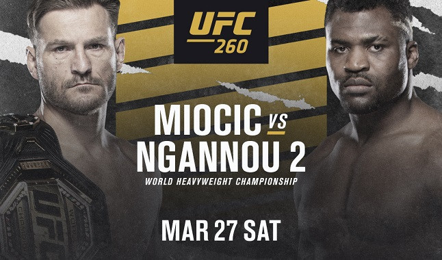 All about the fight between Stipe Miocic vs Francis Ngannou