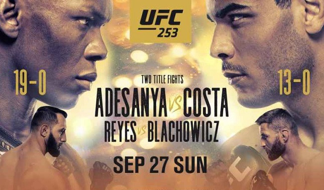 Everything about the UFC fight 253
