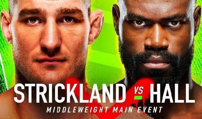 UFC Vegas 33: Uriah Hall vs. Sean Strickland
