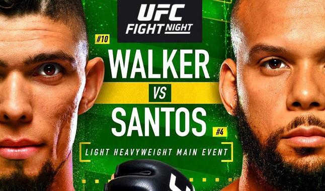 UFC Vegas 38: Santos vs. Walker