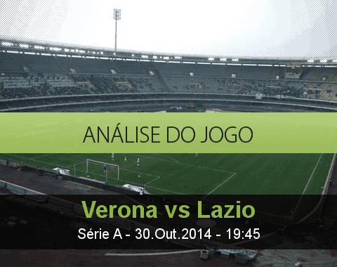 Análise do jogo: Verona vs Lazio (30 Outubro 2014)