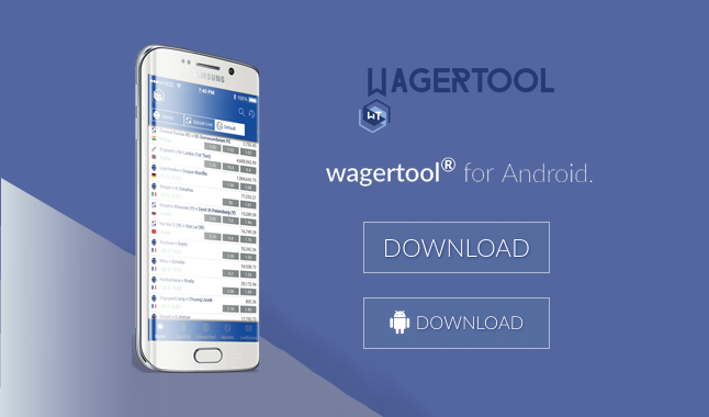 Wagertool - Trading Software - Windows and Android